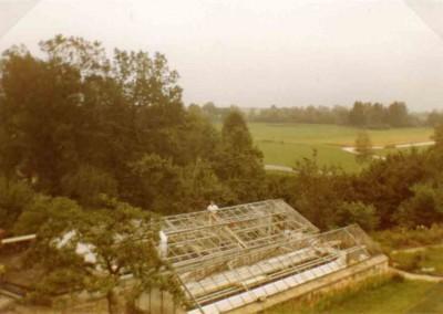 Schwerer Hagelschaden am 18. August 1974