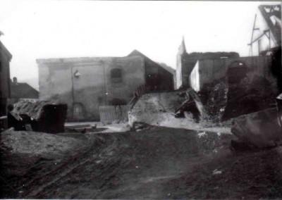 1931 brennt der alte Stall komplett ab