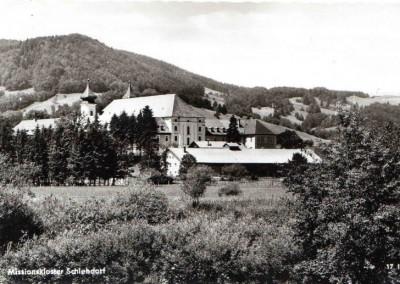 Postkarte Missionskloster Schlehdorf