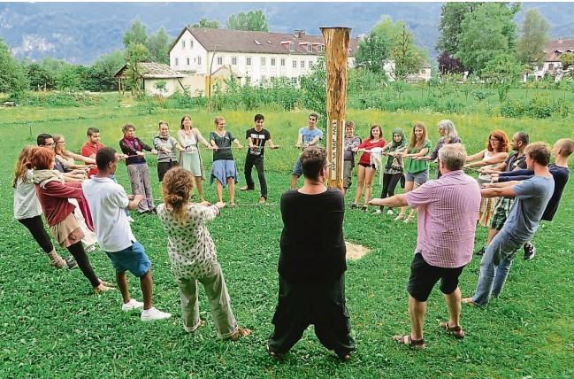 Peacecamp im Tölzer Kurier