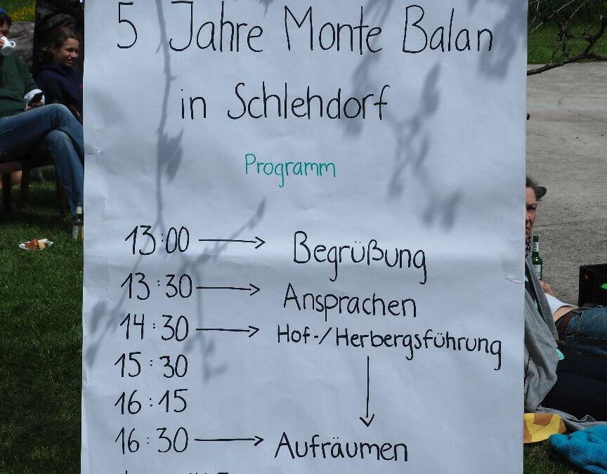 5 Jahre Monte Balan am KlosterGut