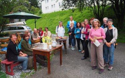 Besuch von der Kräuterregion Tölzer Land