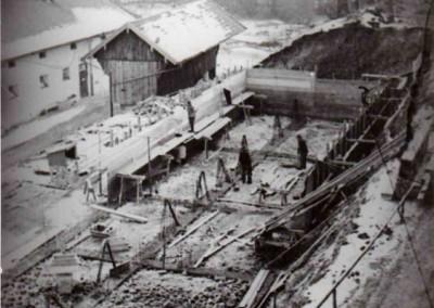Bau des Schwesternwohnheims 1964/1965