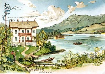Der alte Karpfsee als geplantes ouristisches Ausflugsziel