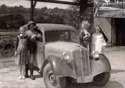 Besuch mit Auto
