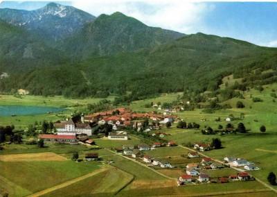 Postkarte Blick auf Schlehdorf