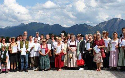 Urkundenverleihung Kräuter-Erlebnis-Region Tölzer Land