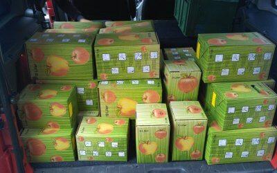 385 Liter Apfelsaft
