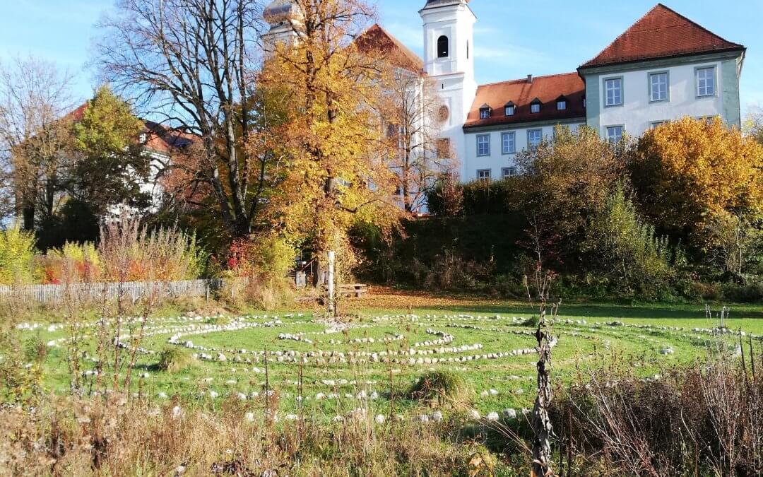 Labyrinth restauriert